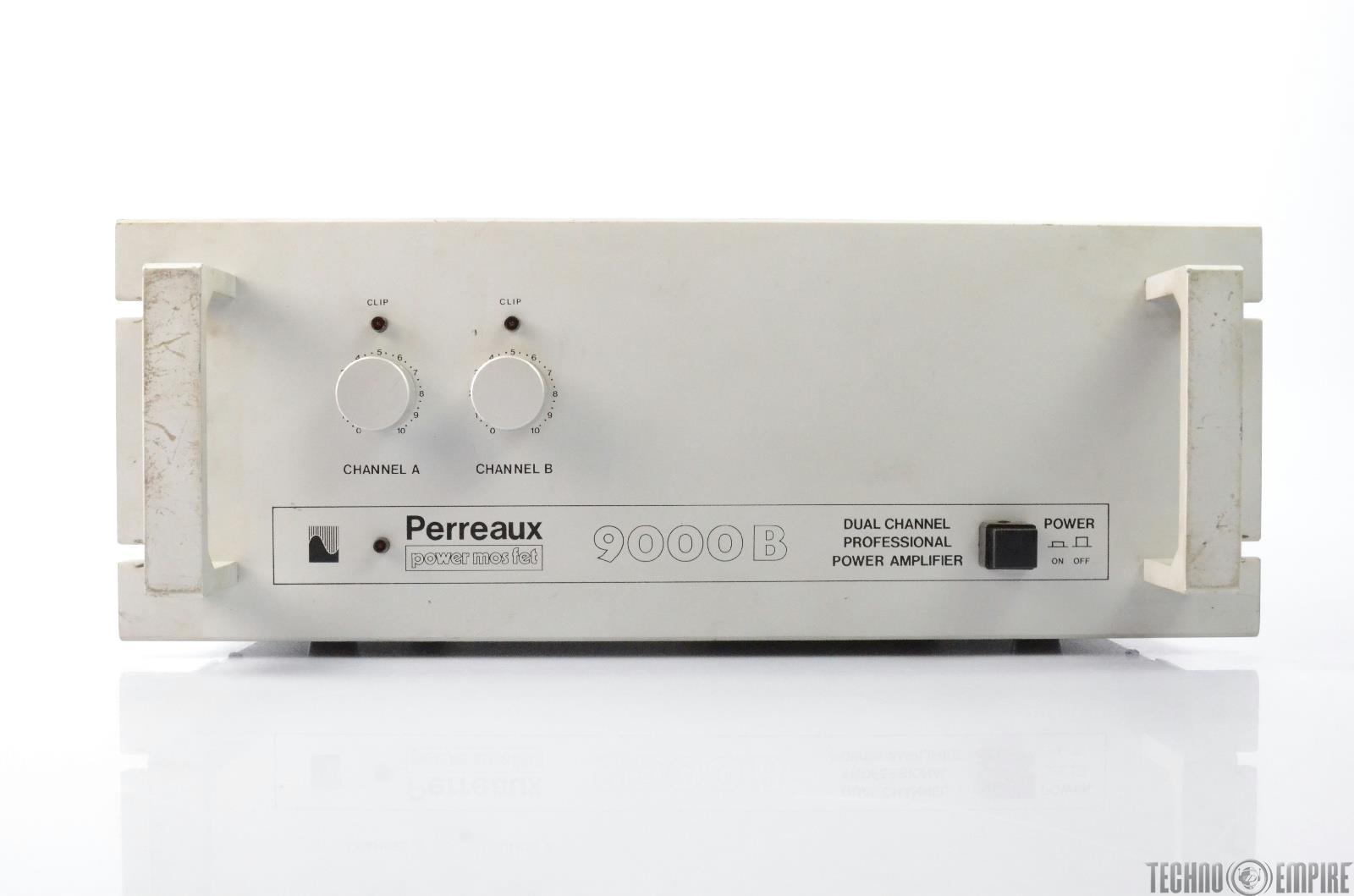PERREAUX 9000B Power Mos Fet Dual Channel Power Amp #26667
