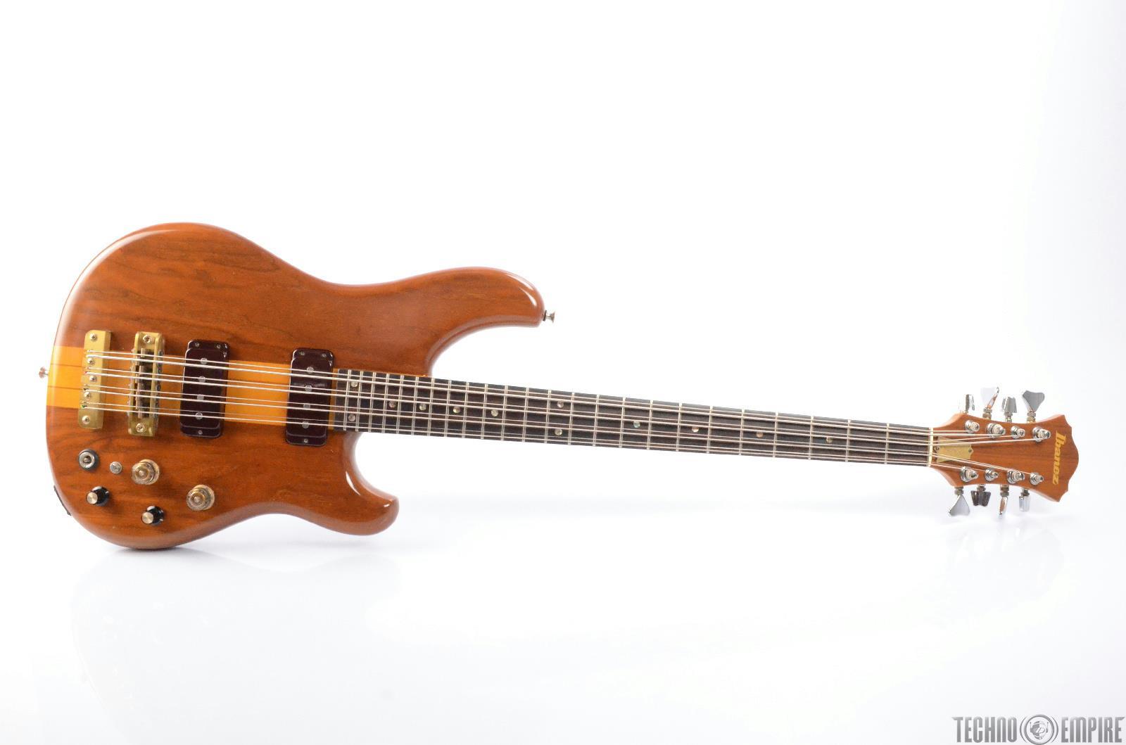 1980 ibanez mc 980 musician 8 string electric bass guitar w hard case 26458 ebay. Black Bedroom Furniture Sets. Home Design Ideas