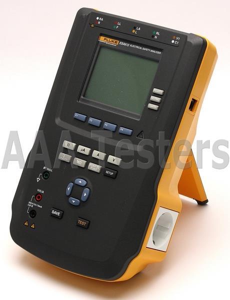 Safest Home Electrical Tester : Fluke esa v ac electrical safety analyzer medical