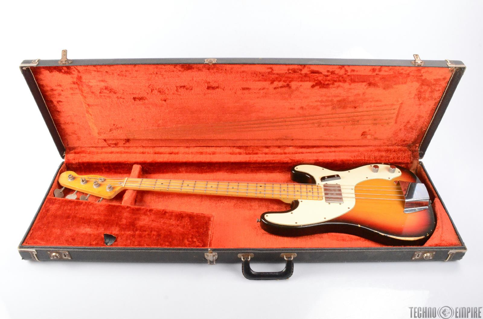 1973 fender telecaster electric bass guitar w hard case 26369 ebay. Black Bedroom Furniture Sets. Home Design Ideas