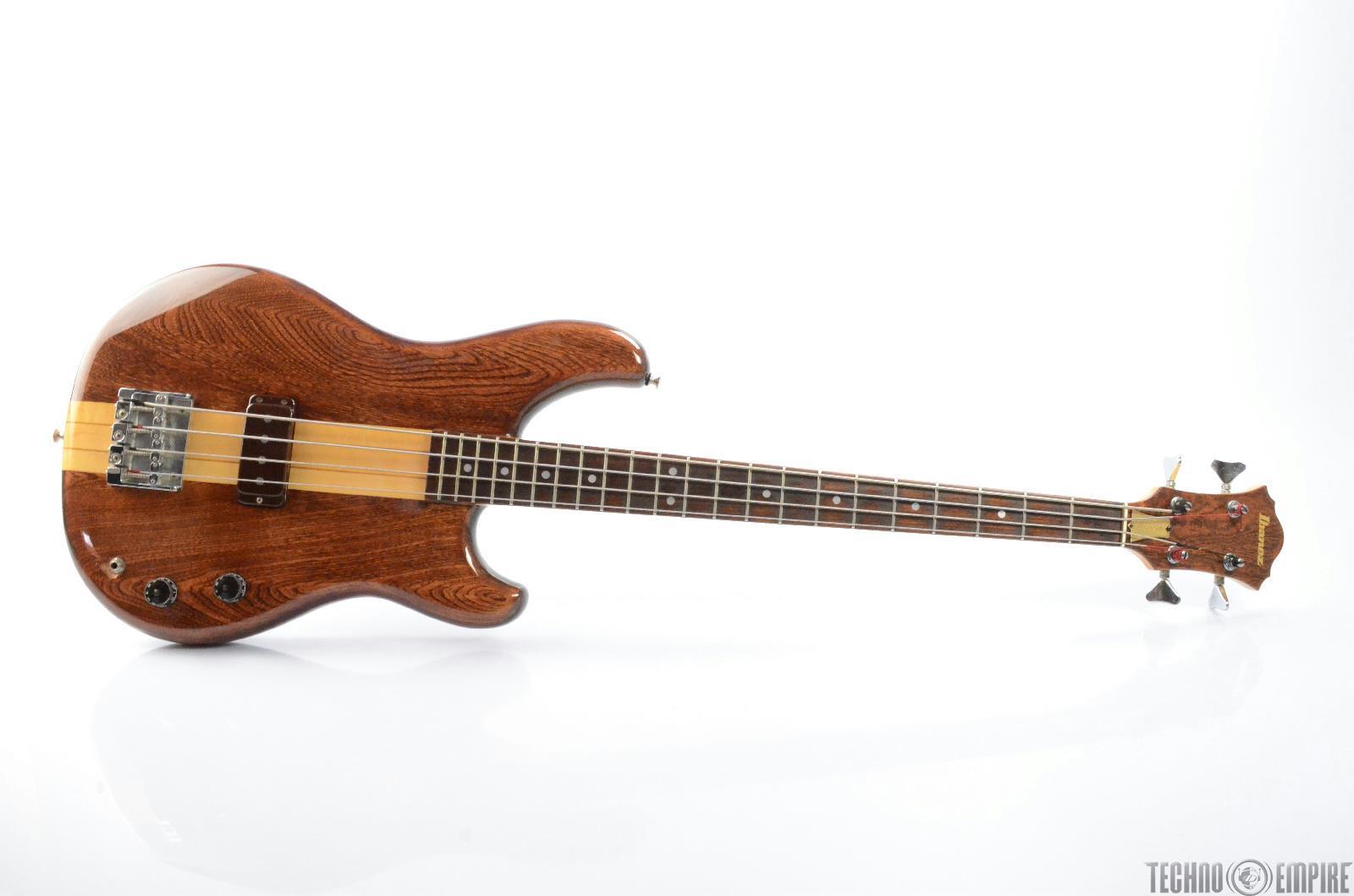 1979 IBANEZ MC-800 Musician 4-String Electric Bass Guitar w/ Hard Case #26338