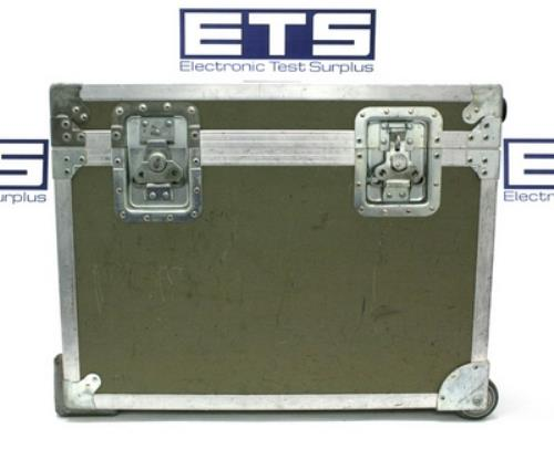 Electronic Test Equipment : Electronic test equipment flight road case w handle