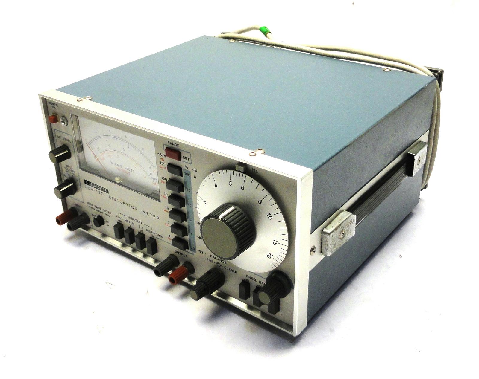 Leader LDM-170 Audio Distortion Meter | Powered On | eBay