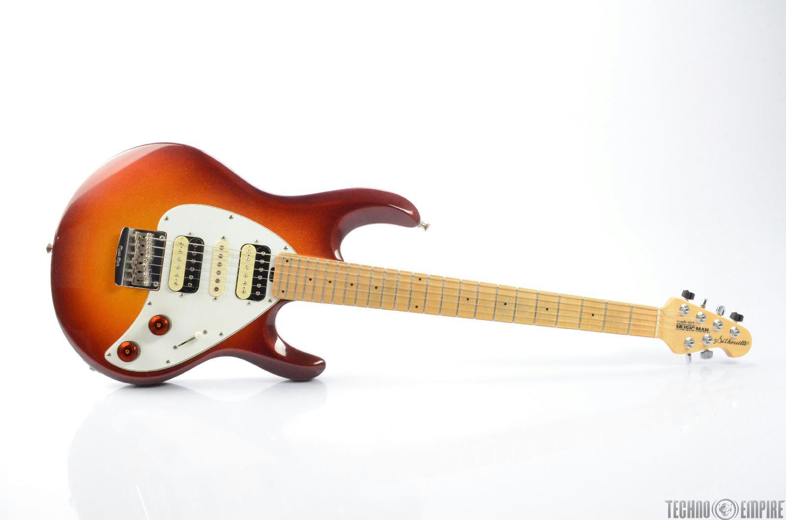 MUSIC MAN Silhouette HSH Electric Guitar w/ Rio Grande Pickup & Hard Case #26450