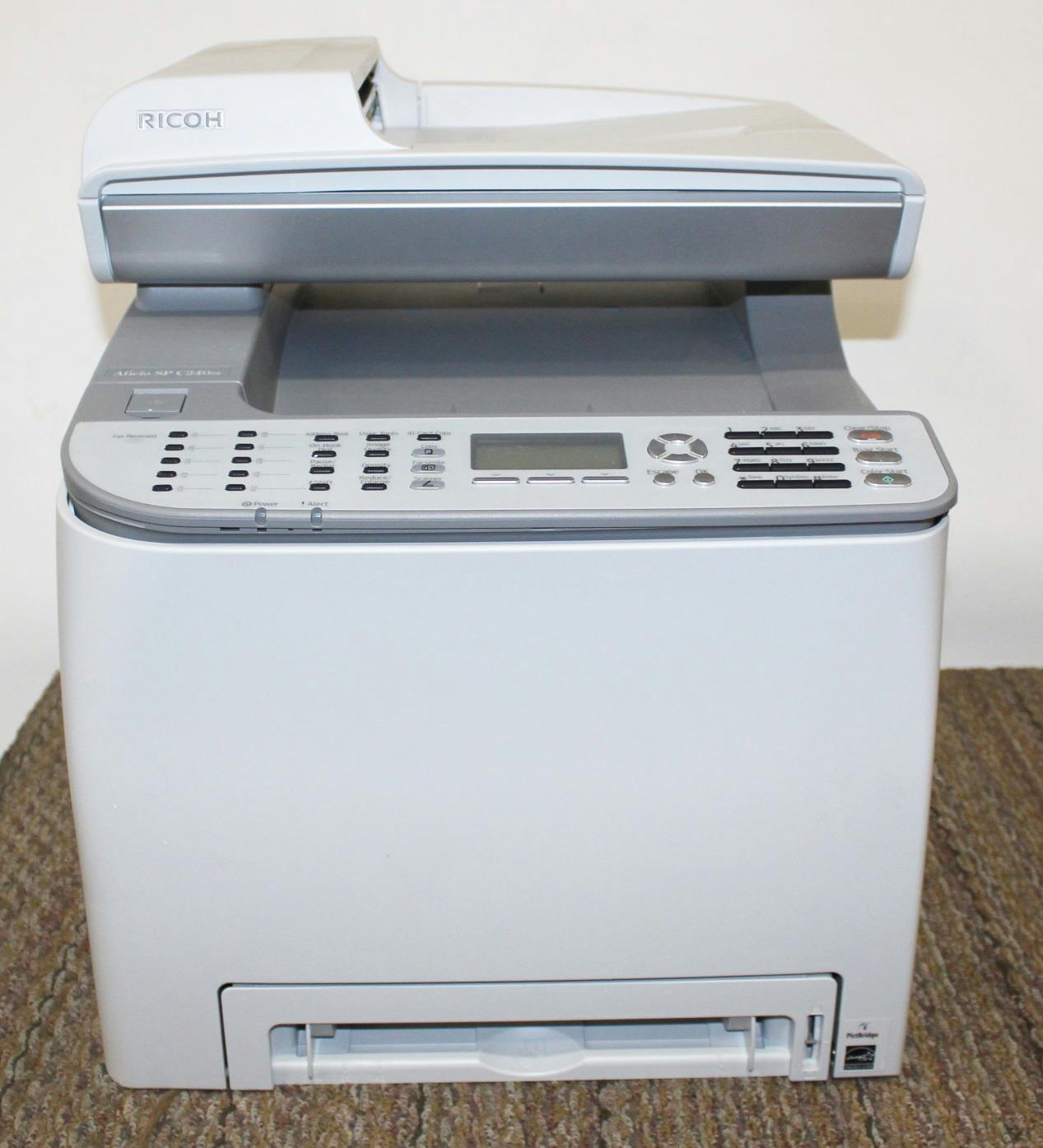Ricoh Aficio SP C240SF Printer Driver for Windows 7