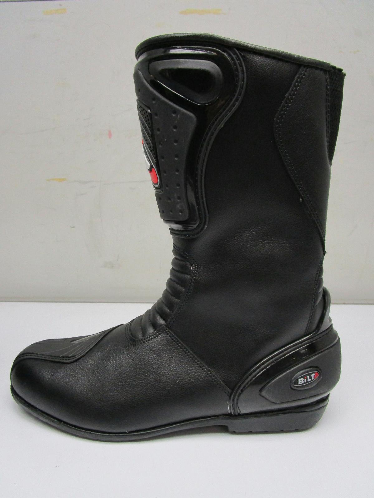 bilt hurricane waterproof leather motorcycle boots s