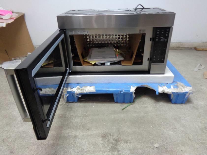 bosch 800 series hmv8052u 18 cu ft microwave oven see pics