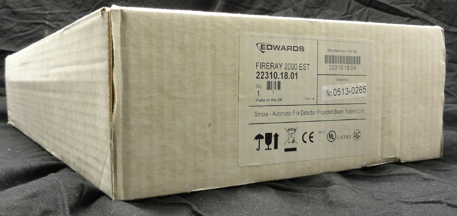 New Edwards 22310 18 01 Fireray 2000 Linear Beam Smoke