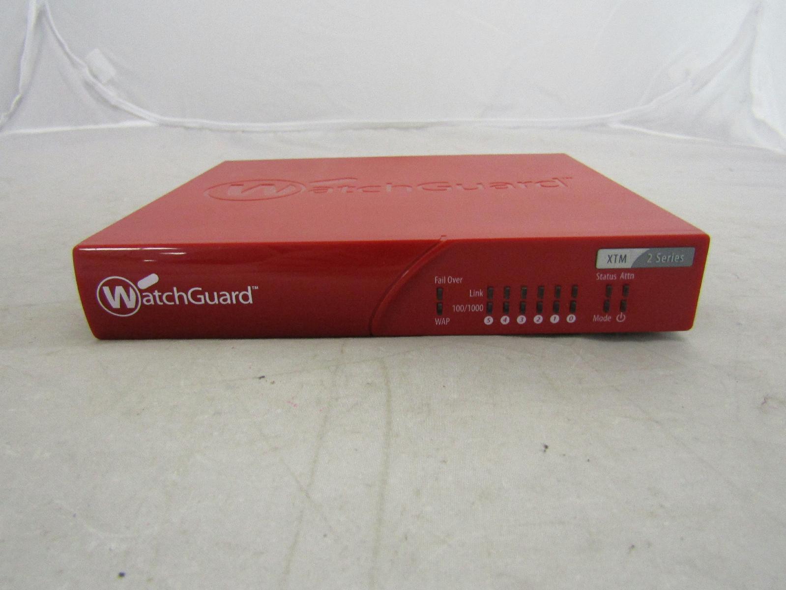 watchguard xtm 2 series manual