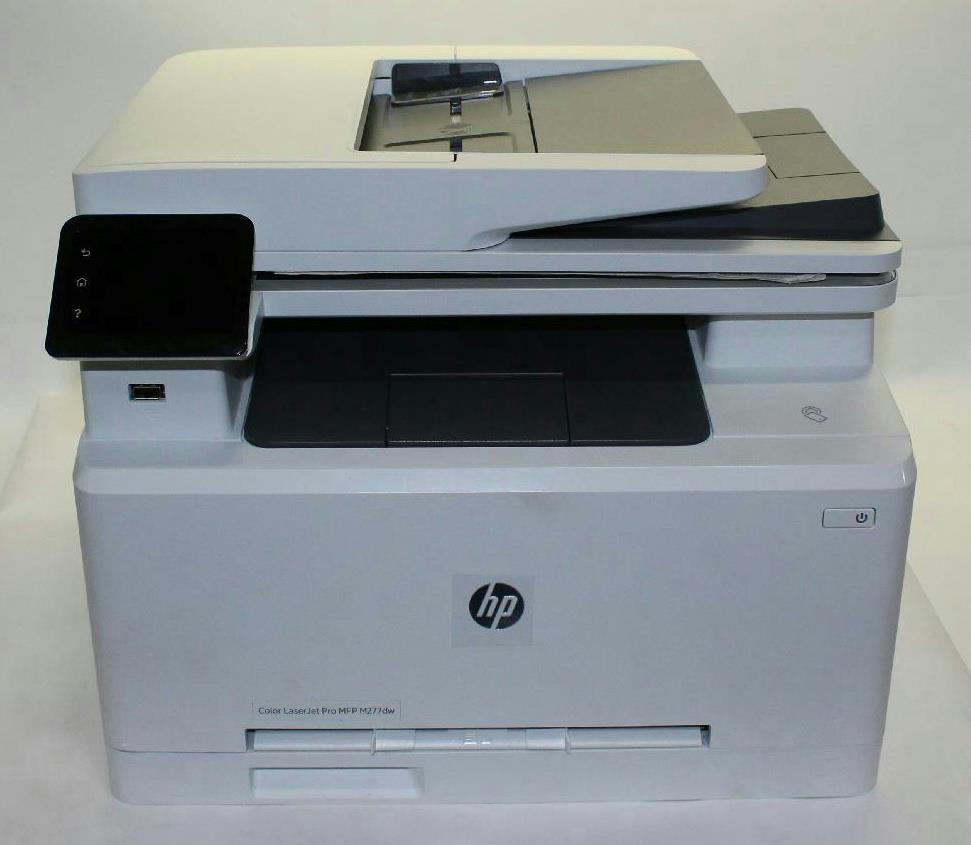 hp color laserjet pro mfp m277dw printer b3q11a bgj 800143368 ebay. Black Bedroom Furniture Sets. Home Design Ideas