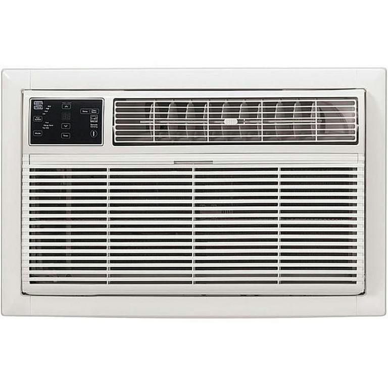 Kenmore 77085 115v 8 000 btu thru the wall white air for 115v window air conditioner with heat