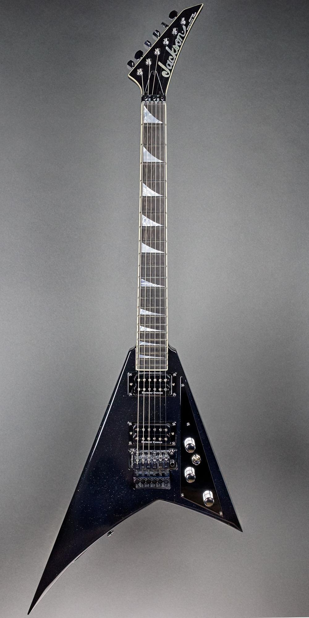 Jackson Usa Custom Shop Randy Rhoads Rr1  Black Sparkle