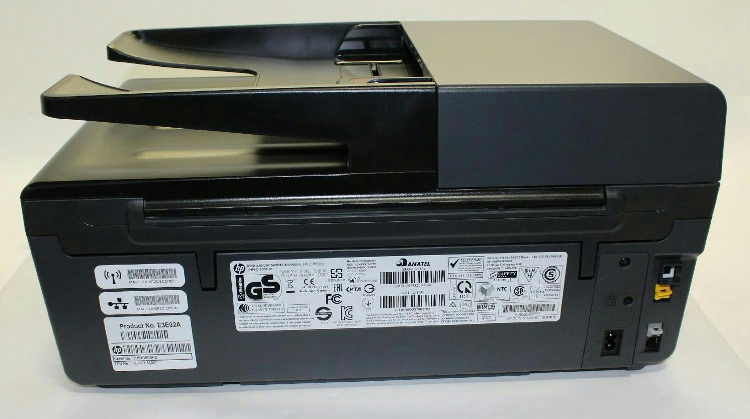 hp officejet pro 6830 e all in one printer e3e02a b1h for parts 800147269 ebay. Black Bedroom Furniture Sets. Home Design Ideas