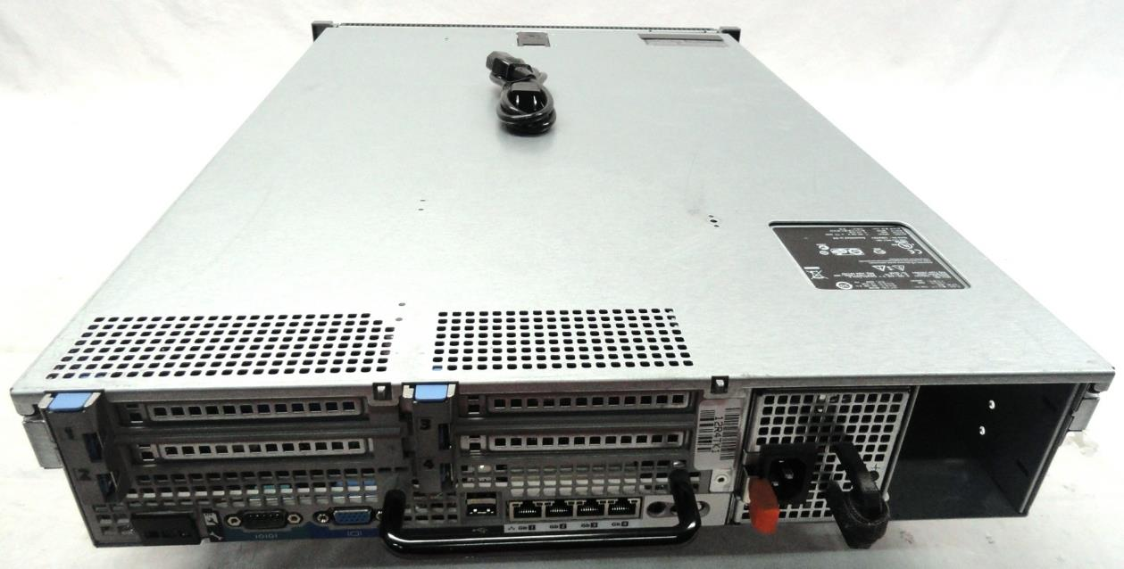 dell poweredge r710 server 2x quad core xeon 12gb dvdrw ebay. Black Bedroom Furniture Sets. Home Design Ideas