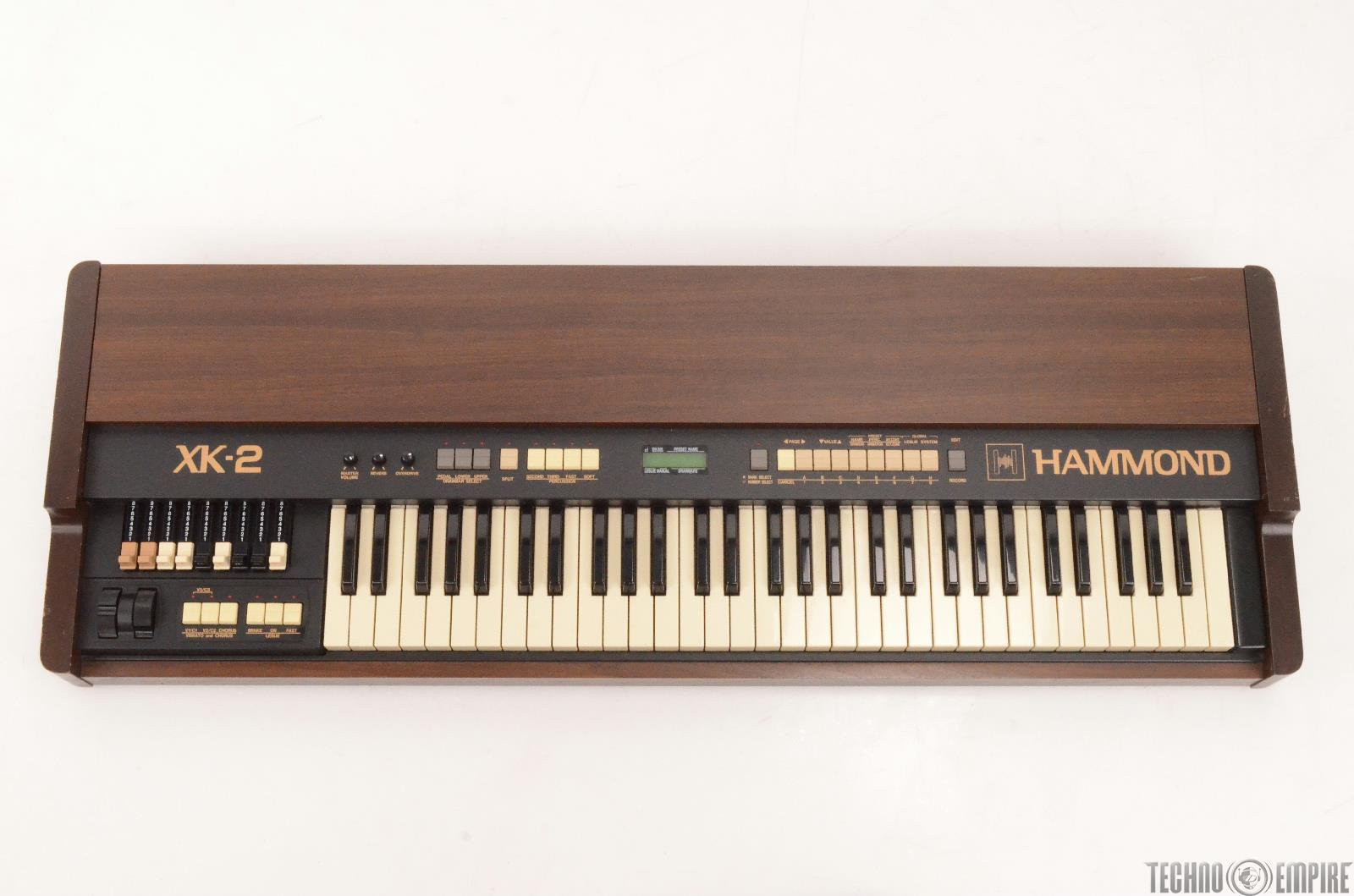 Hammond XK-2 Clone wheel Drawbar Organ Keyboard #26996