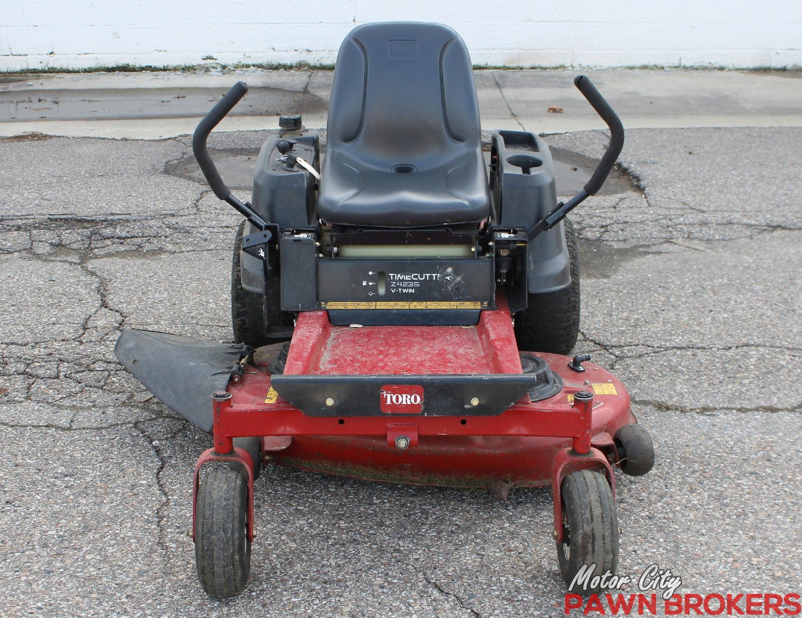 how to operate a toro zero turn mower