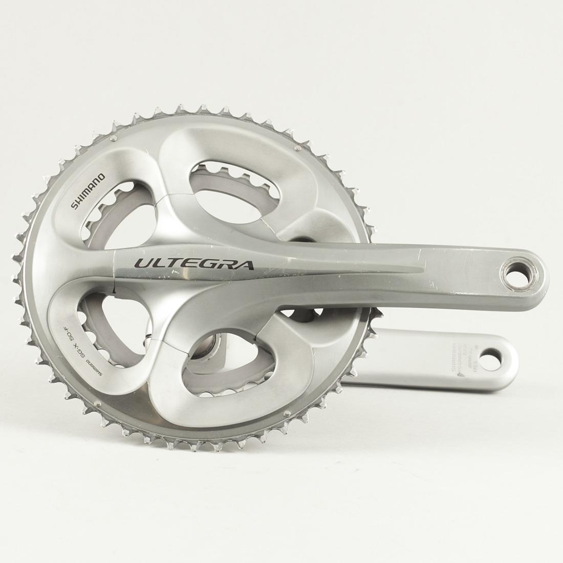 Used Shimano Ultegra FC-6750 Road Bike Compact Crankset 170mm 50/34t 9/10 Speed | eBay