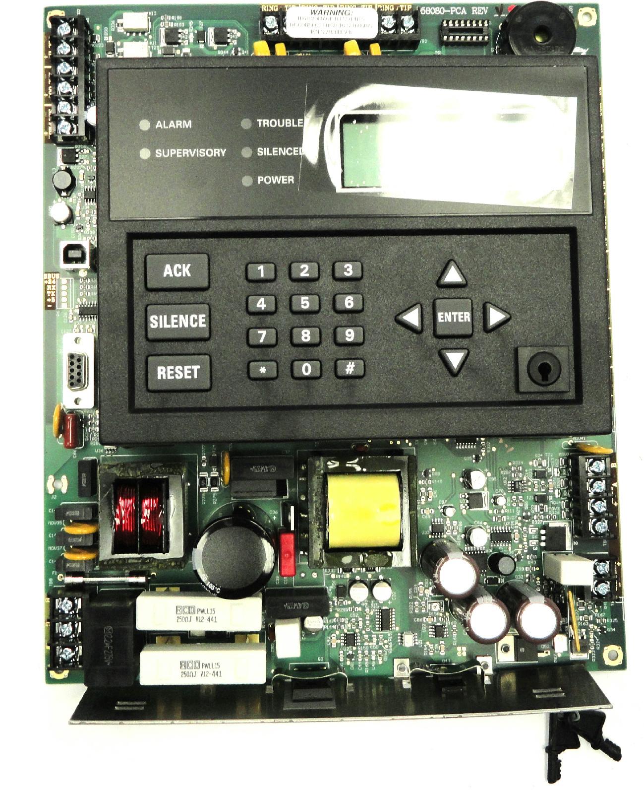 Honeywell Sk 058080 Silent Knight Addressable Fire Alarm
