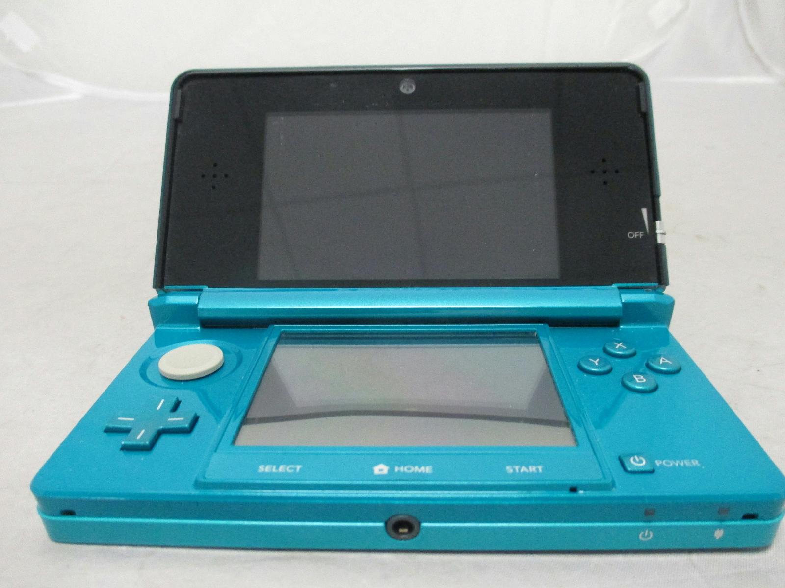 Aqua blue nintendo 3ds handheld video game console 45496500115 ebay - Nintendo 3ds handheld console ...