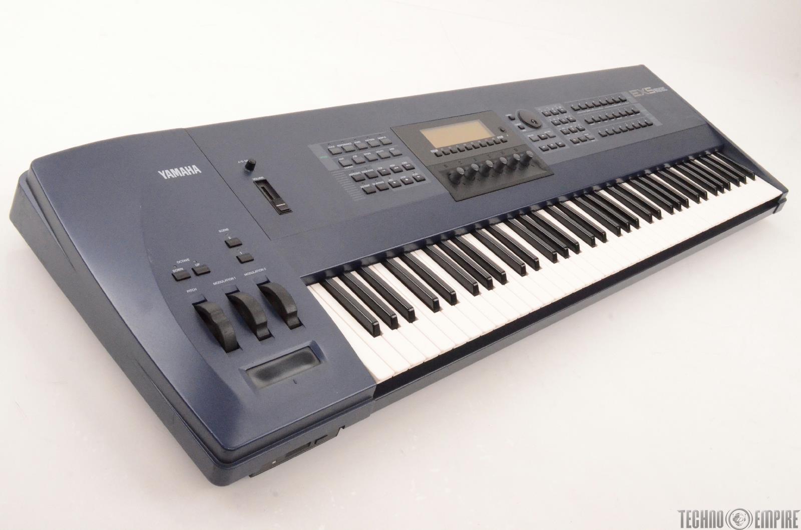 yamaha ex5 76 key synthesizer sampler sequencer keyboard workstation 27126 ebay. Black Bedroom Furniture Sets. Home Design Ideas