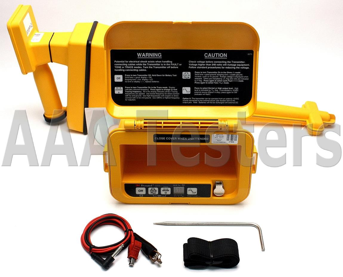 3m Cable Fault Locator : M dynatel cable pipe fault locator ebay