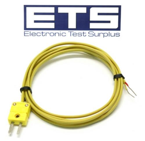 E Type Thermocouple Cable : Lot of thermocouple cable with mini type k yellow e