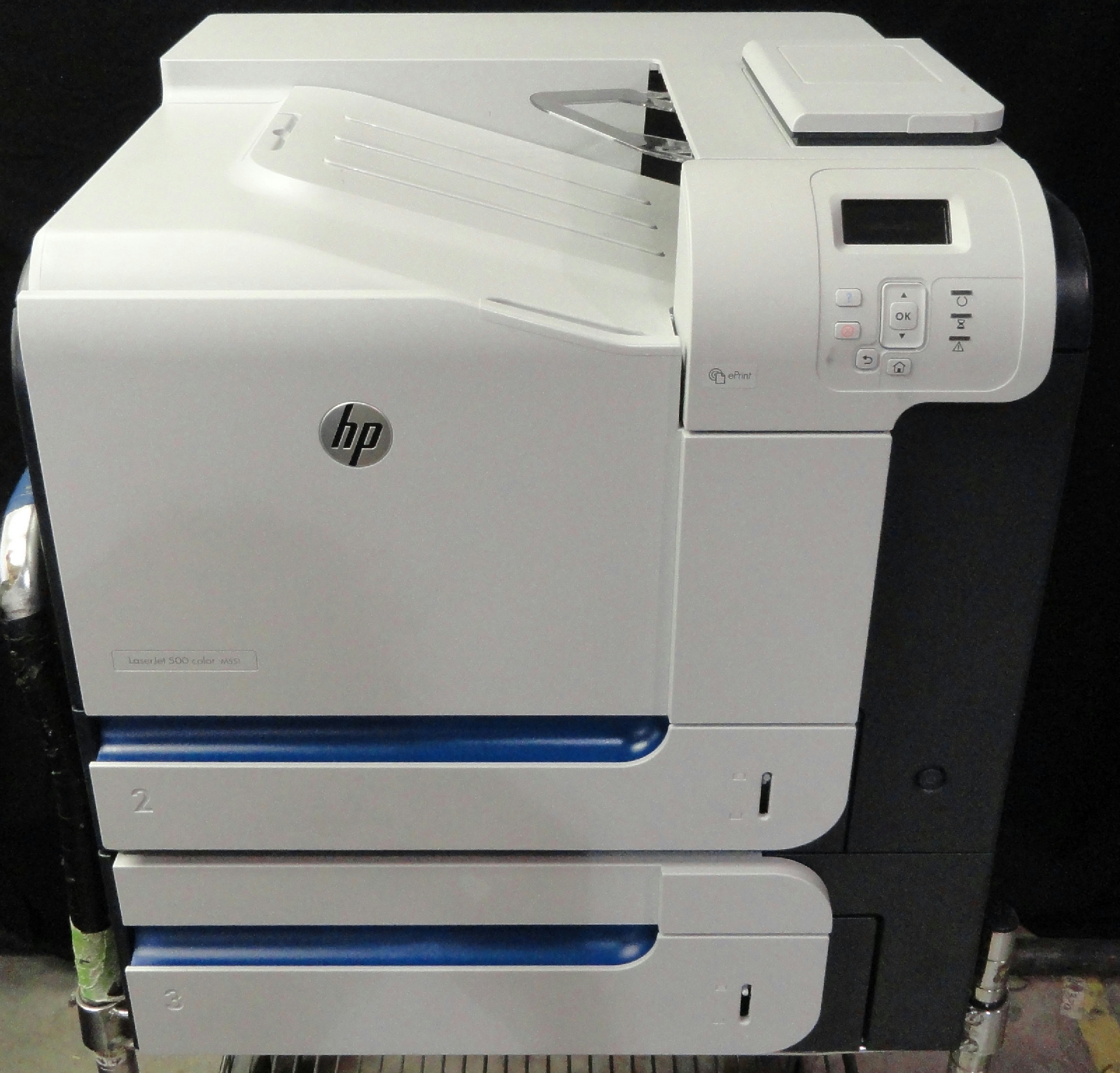 * Hewlett Packard LaserJet 500 Color M551 Printer CF083A ...