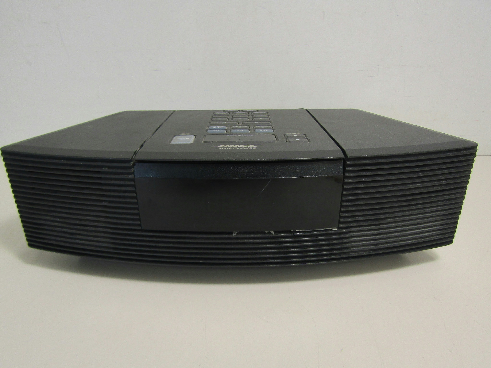 bose wave black radio cd player alarm clock awrc 1g ebay. Black Bedroom Furniture Sets. Home Design Ideas