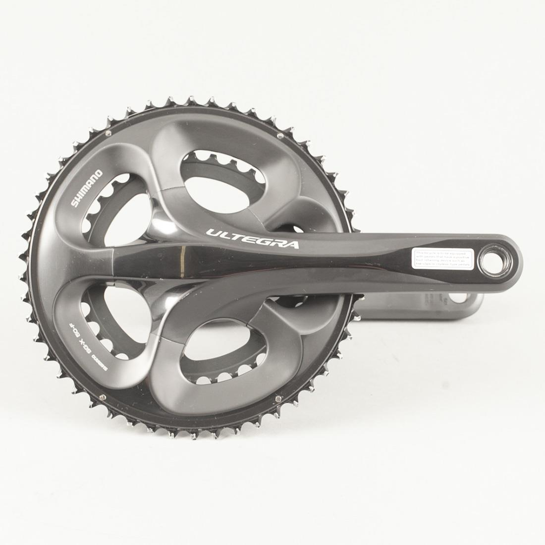 Used Shimano Ultegra FC-6750 Road Bike Compact Crankset 175mm 50/34t 9/10 Speed | eBay
