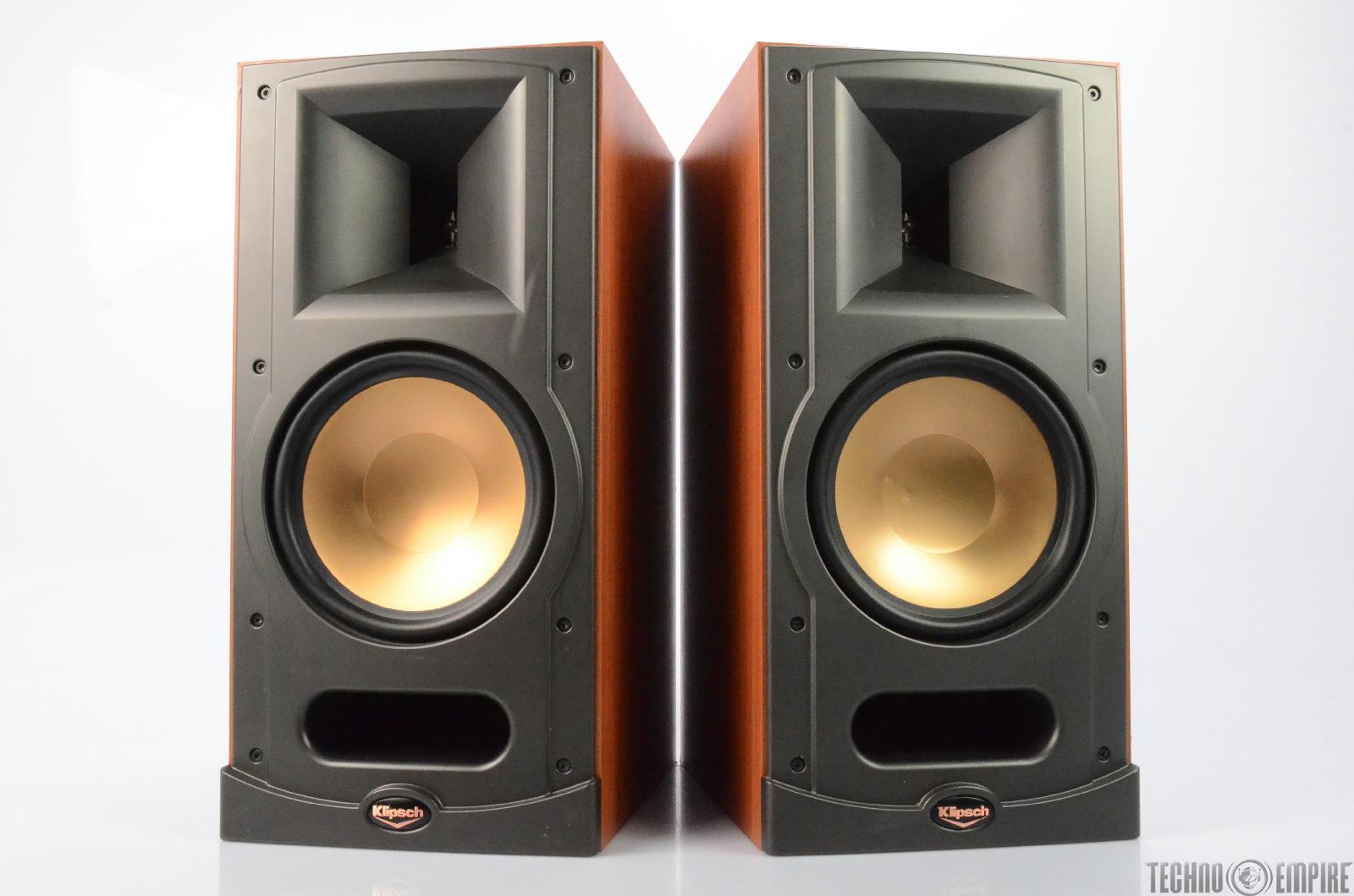 klipsch rb 81 bookshelf speakers cherry finish pair 27152. Black Bedroom Furniture Sets. Home Design Ideas