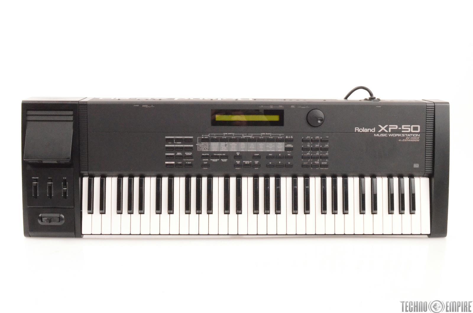 Roland XP-50 Music Workstation 61-Key Keyboard 64 Voice #27148