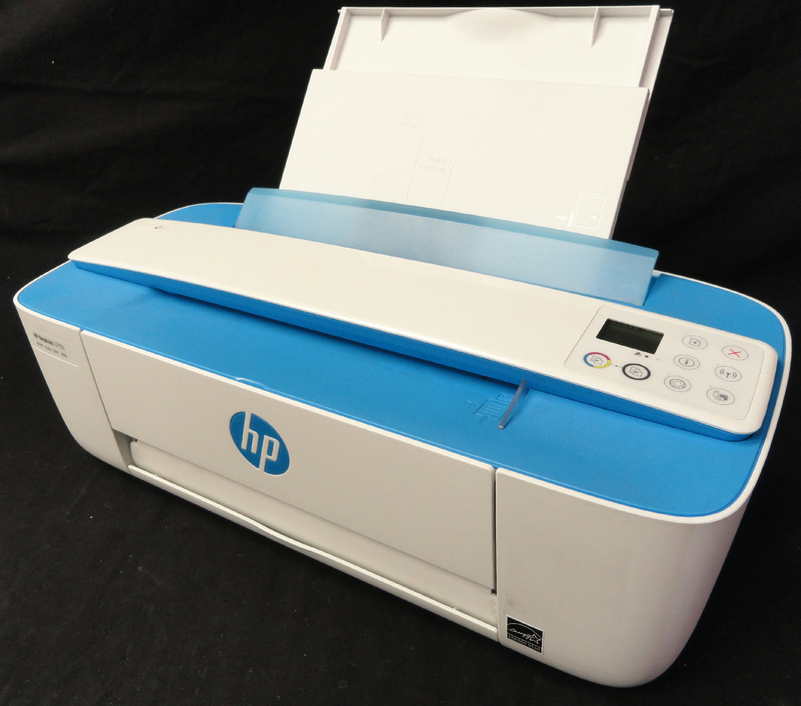 HP DeskJet 3755 All-in-One Printer | w/ Color & Black Ink ...