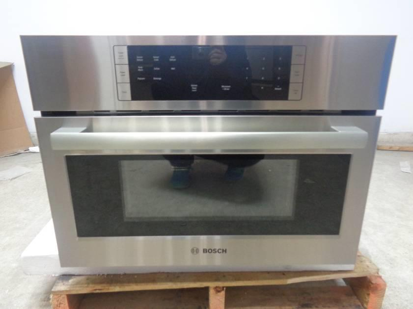 Bosch 500 Series Stainless Steel Built In Microwave Oven Hmb57152uc