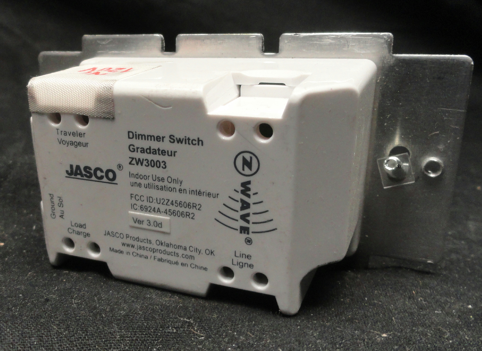 Jasco In Wall Dimmer Switch Sale Jasco Products Co Llc 45712 In - Jasco Relay Switch