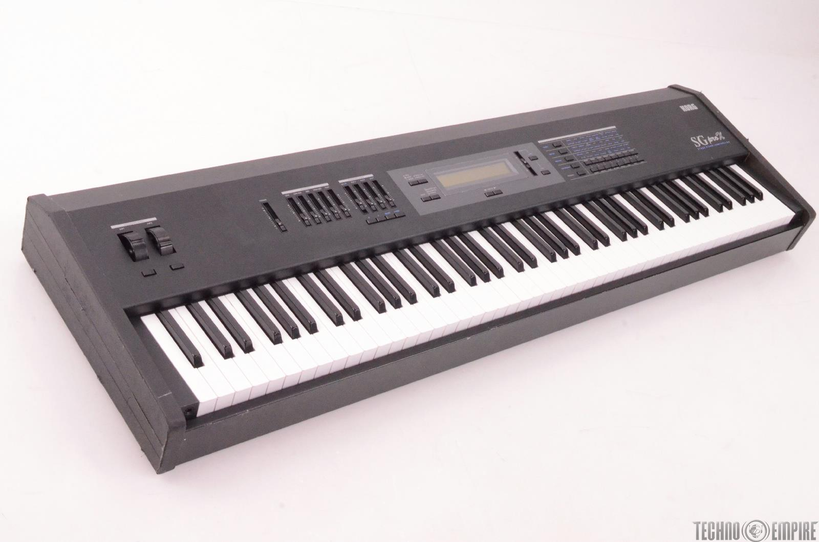 korg sg pro x weighted 88 key stage piano controller keyboard 27399 ebay. Black Bedroom Furniture Sets. Home Design Ideas