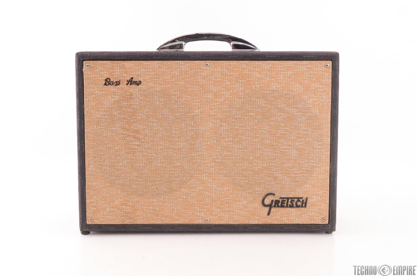 1962 GRETSCH 6159 2-Ch Bass/ Guitar/ Accordion Tube Combo Amp Amplifier #27426
