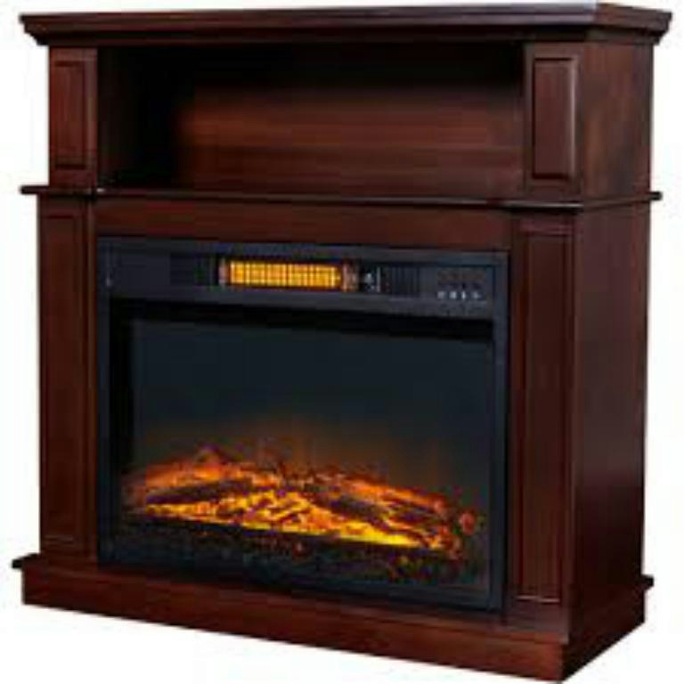 Fireplace Tv Stand Media Console With Heater Entertainment Center Electric Wood Ebay