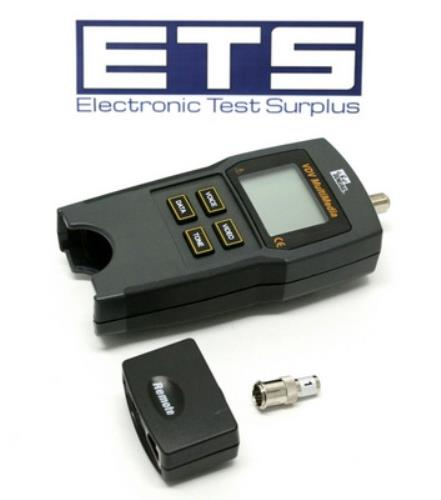 Ideal Vdv Multimedia 33 856 Cable Network Verifier Tester