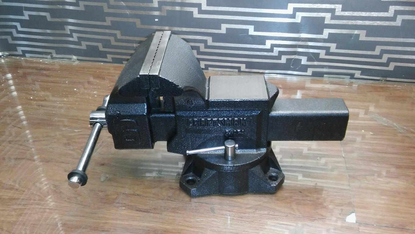 Craftsman 51856 heavy duty 6 inch bench vise w swivel base reversible jaws ebay 6 inch bench vise