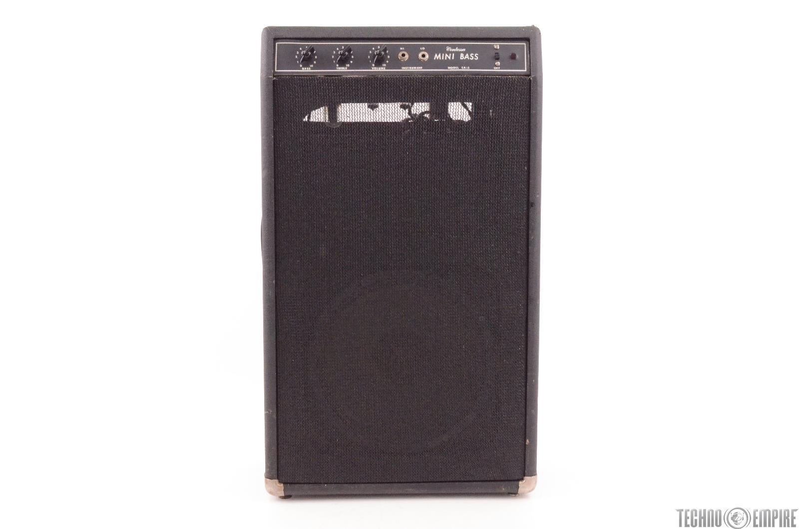 "CONTESSA CA-15 1x15"" Mini Bass Combo Tube Amplifier CA-10 Bartell Hohner #27436"