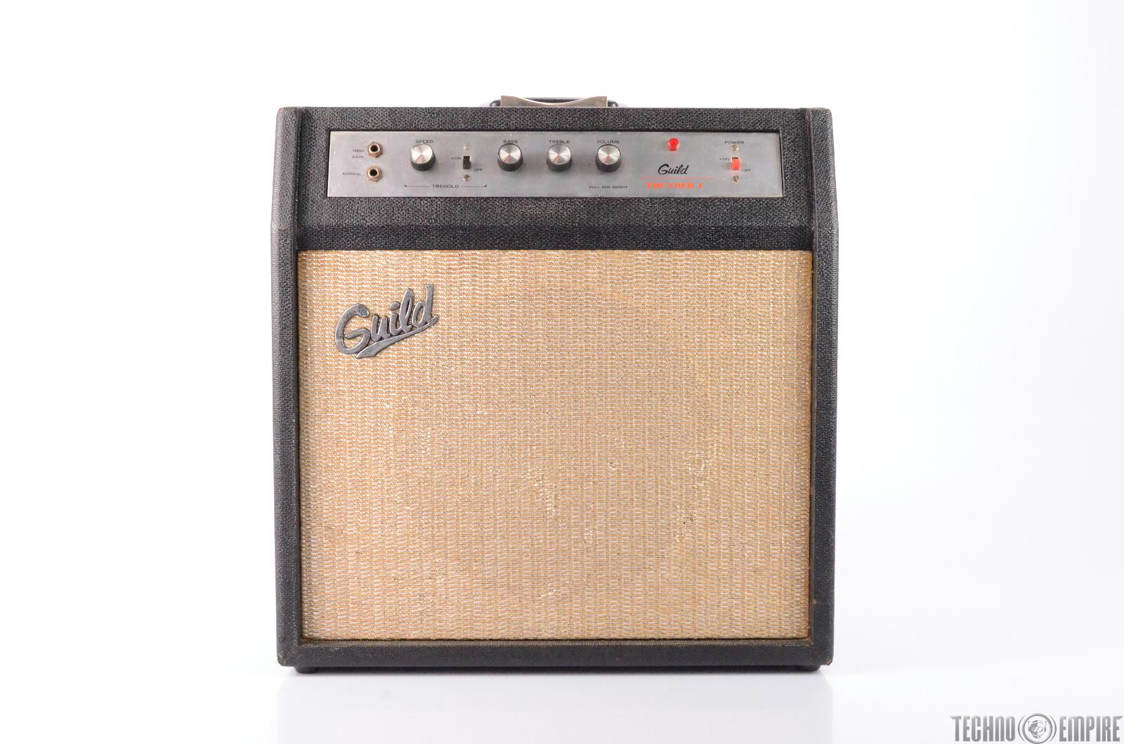 GUILD Thunder 1 T1-12 Combo Amp Tube Amplifier with Tremolo 1x12 #27433
