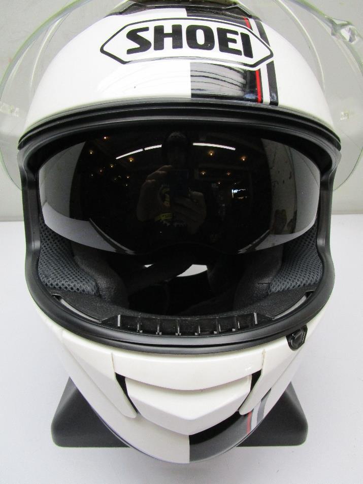 shoei gt air wanderer motorcycle helmet white med ebay. Black Bedroom Furniture Sets. Home Design Ideas