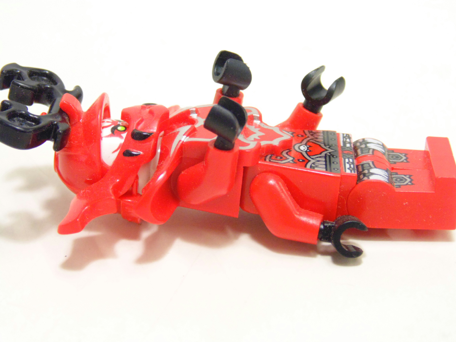 Lego minifigure ninjago general kozu with 4 arms ebay - Ninjago les 4 armes d or ...