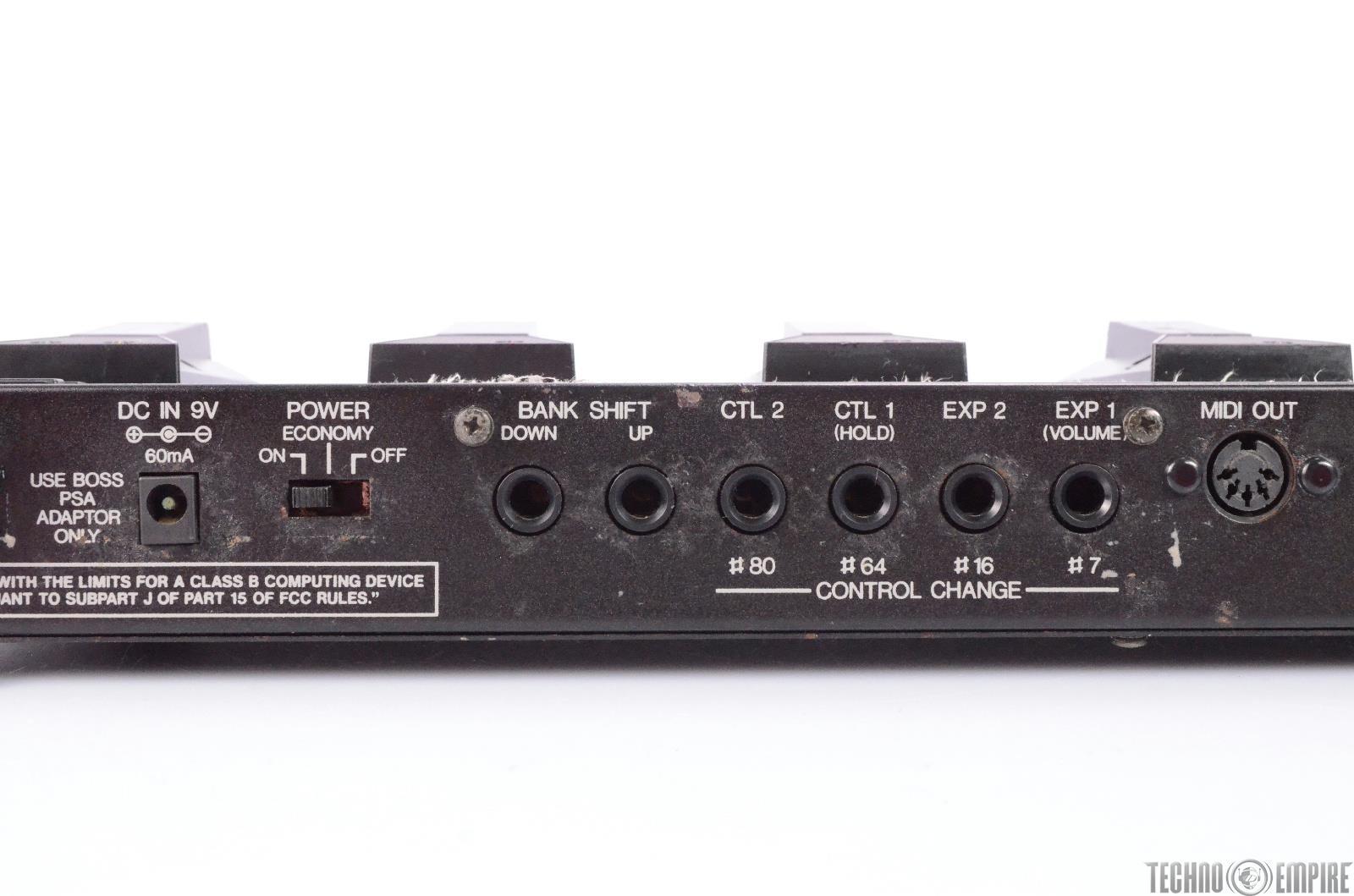 boss fc 50 midi foot controller guitar pedal switcher midi 27488 ebay. Black Bedroom Furniture Sets. Home Design Ideas