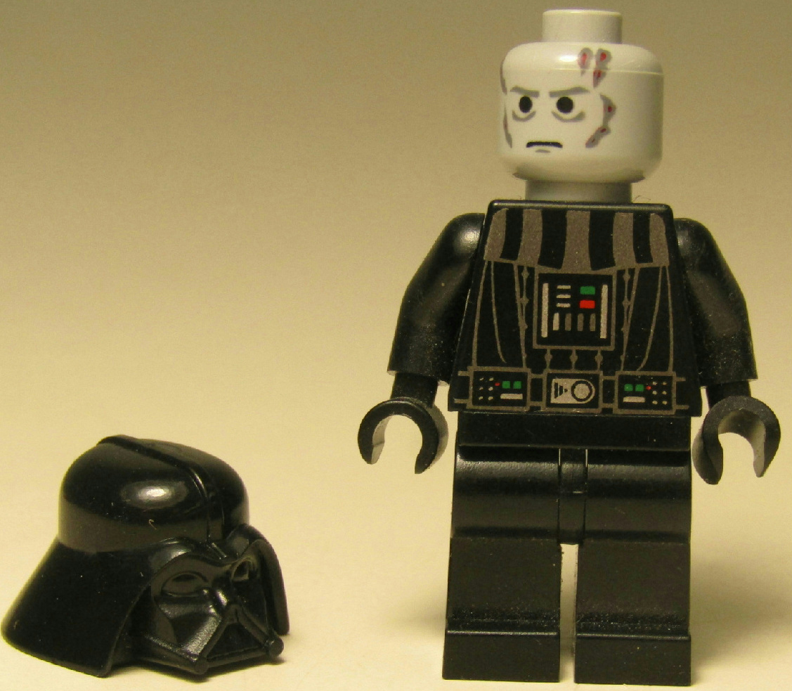 Lego Star Wars Minifigure Dark Lord of the Sith Darth ...