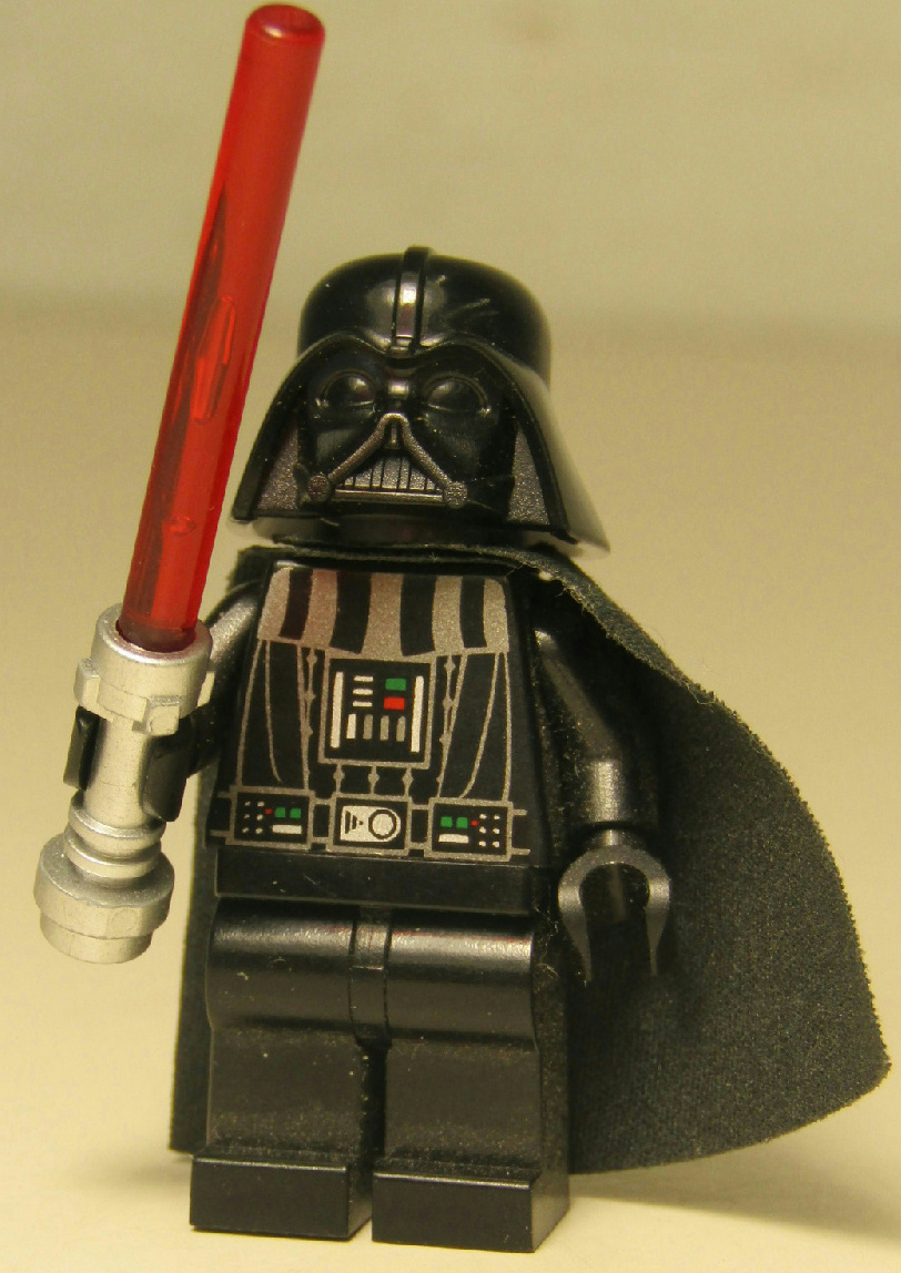 Lego Star Wars Minifigure Dark Lord of the Sith Darth Vader