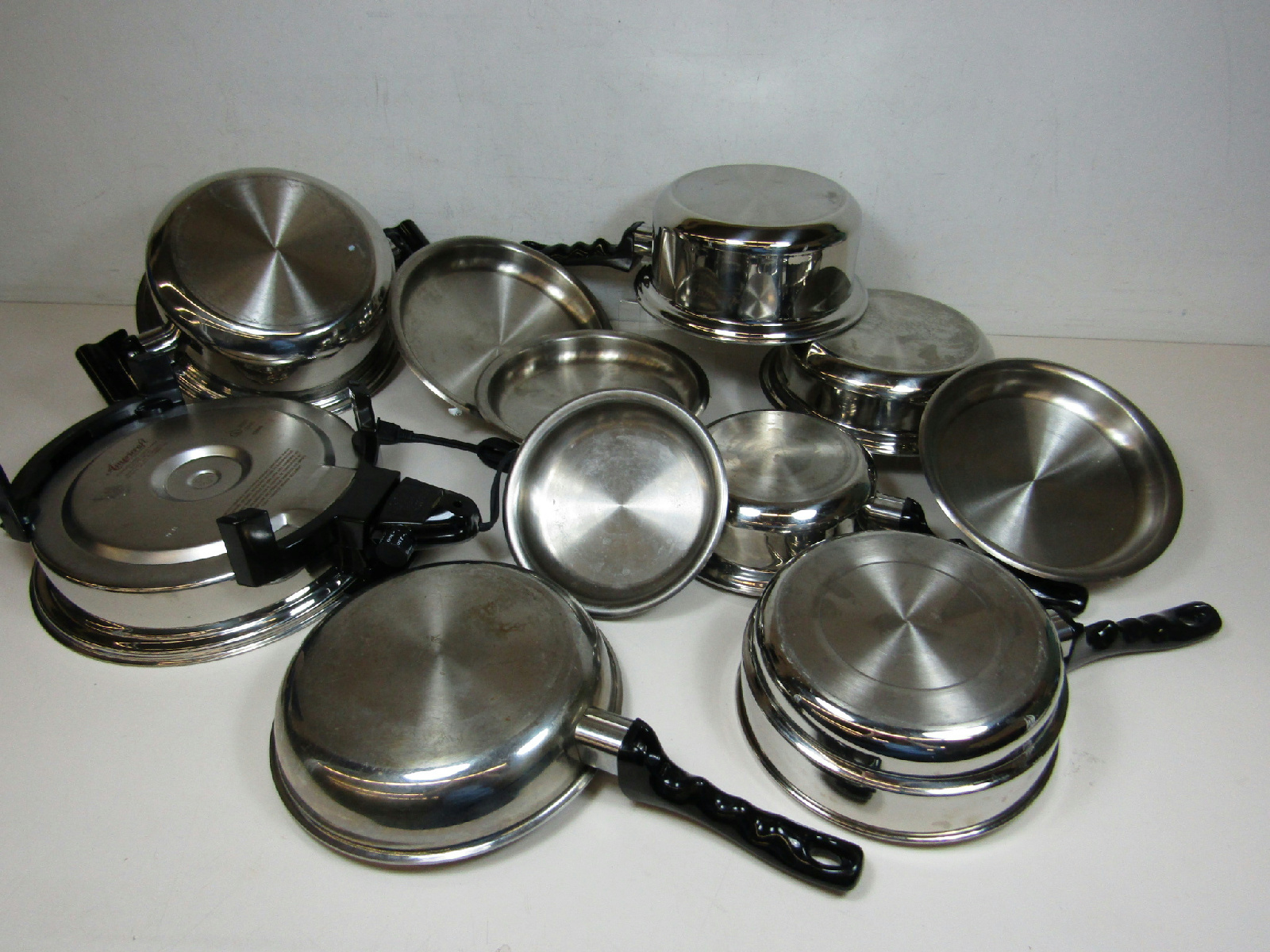 kitchen craft americraft waterless 11 pc cookware set 1