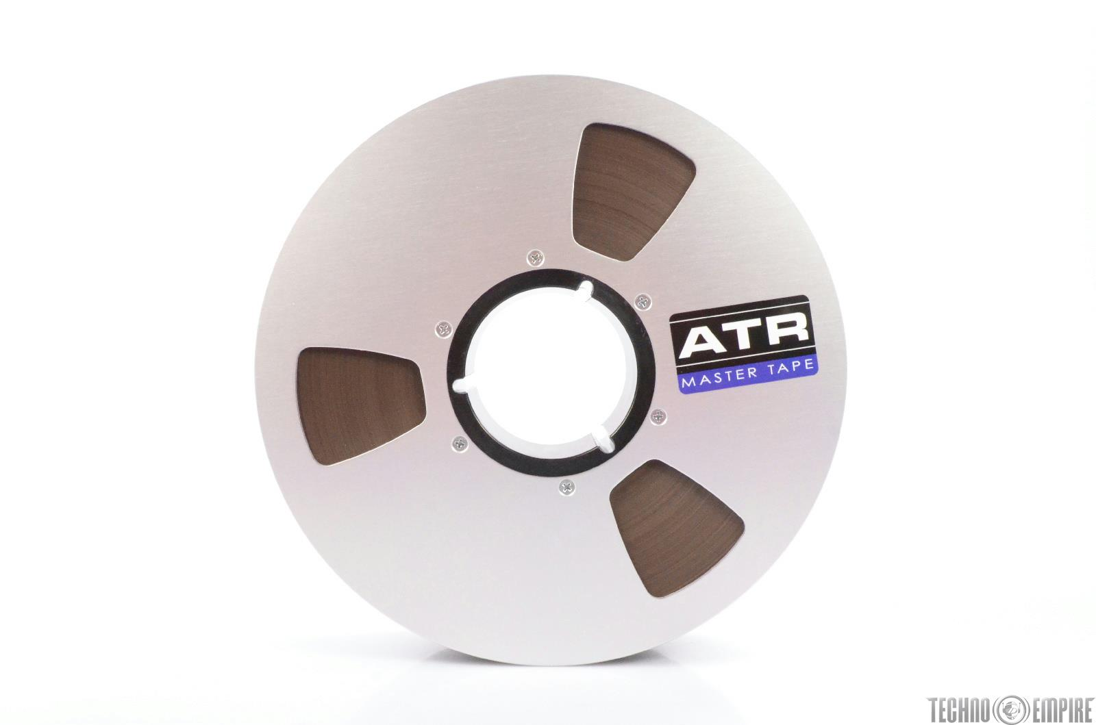 "ATR MAGNETICS Studio Master 2"" x 2500' 10.5"" Analog Reel Recording Tape #27559"