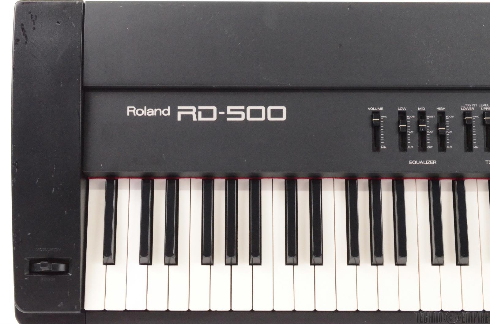 roland rd 500 88 key weighted keys keyboard 27410. Black Bedroom Furniture Sets. Home Design Ideas