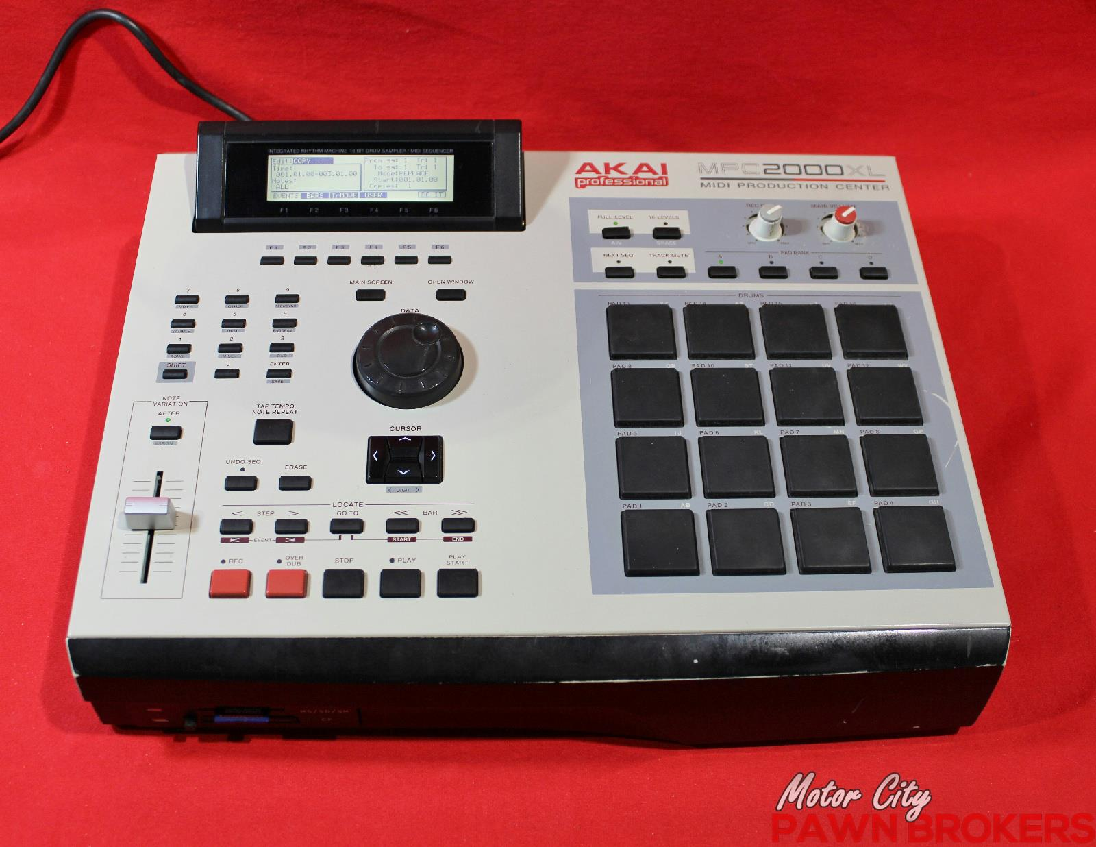 akai mpc2000xl upgraded 16 pads midi production drum machine sampler ebay. Black Bedroom Furniture Sets. Home Design Ideas